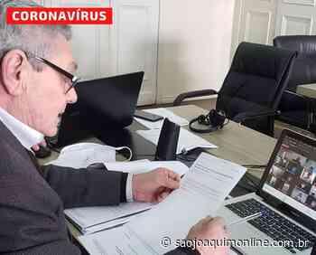 Prefeitos da Serra Catarinense, exigem os novos leitos de UTI no Hospital Tereza Ramos - Agência de Notícias São Joaquim Online