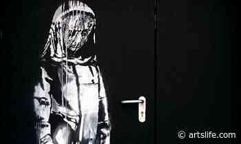 Banksy. Sarà esposta a Roma l'opera rubata al Bataclan (e ritrovata in Italia) - ArtsLife