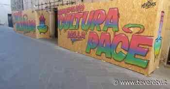 Street Art, completata l'opera di Ninjaz in attesa del prossimo writer Primo step per realizzare l'esposizione urbana voluta dall'amministrazione comunale - Tevere TV