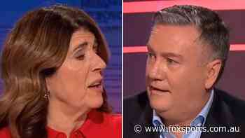 'I wasn't sure he was going to come back': Caroline Wilson speaks after Eddie McGuire's on-air walk off - Fox Sports