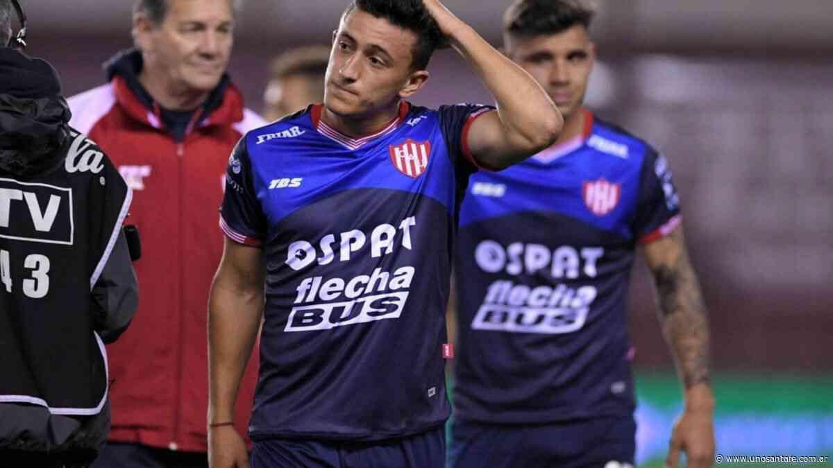 """Lucas Algozino: """"Quiero tener una posibilidad en Unión"""" - Uno Santa Fe"""