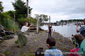 VIDEO: Masset Dance Troupe presents beachfront 'promenade performance' - Haida Gwaii Observer