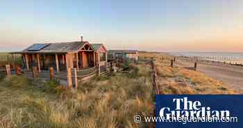 'I want to dance with joy': a beach cabin escape on Kent's Isle of Sheppey - The Guardian