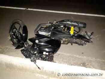 Motociclista bêbado sofre acidente na BR-259, em Resplendor-MG - Colatina em Ação