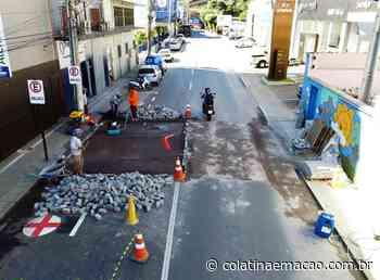 Várias ruas de Colatina vão receber faixas elevadas - Colatina em Ação