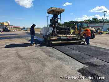Governo de Rondônia recupera revestimento asfáltico do aeroporto em Vilhena - Correio de Rondônia