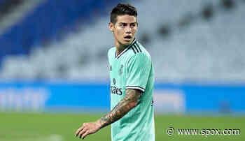 Real Madrid: James Rodriguez verweigert Kader-Berufung - SPOX