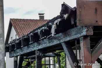Carport vor einem Wohnhaus in Alfdorf-Pfahlbronn abgebrannt: Zeugen gesucht - Zeitungsverlag Waiblingen