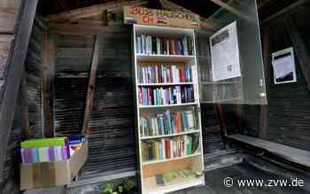 Öffentliche Bücherregale in Alfdorf: Maischerz sorgt für Eigendynamik - Zeitungsverlag Waiblingen
