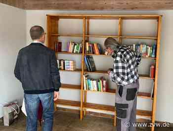 Öffentliches Bücherregal in Alfdorf eingeweiht - Zeitungsverlag Waiblingen