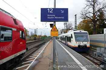 Petition gegen die Abschaffung der Direktverbindung der Münstertalbahn nach Freiburg - Staufen - Badische Zeitung - Badische Zeitung