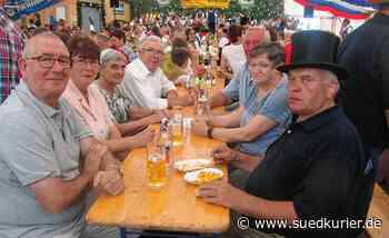 Musikverein gibt beim Leipferdinger Brunnenfest diesmal Ständchen vor der ... | SÜDKURIER Online - SÜDKURIER Online