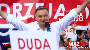 Polen: Andrzej Duda oder Rafal Trzaskowki - wer gewinnt die Wahl? - WAZ News
