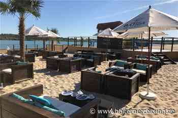 Beach-Club-Eröffnung erneut verschoben: Warten auf Wetterumschwung - Halterner Zeitung