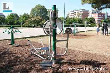 Fitness all'aperto e gratis a Latina: inaugurate le attrezzature nel Parco San Marco - latinaoggi.eu
