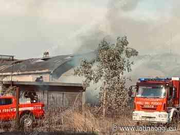 Vasto Incendio nell'area della ex Pozzi Ginori, le segnalazioni - latinaoggi.eu