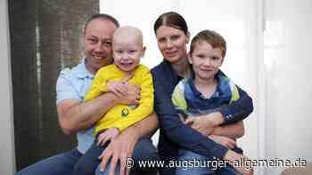 Die Eltern des kranken Jerome aus Kaufering brauchen Hilfe - Augsburger Allgemeine
