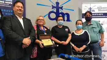 Iraqi Canadian Group Organization donates 1000 face masks to Downtown Mission - CTV News Windsor