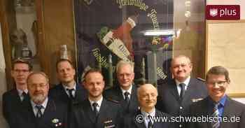 Feuerwehr Hochberg löst sich auf | schwäbische.de - Schwäbische