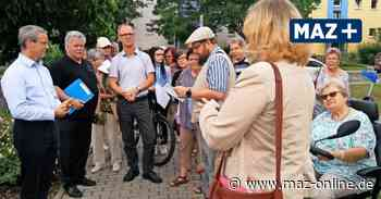 Ludwigsfelde: Stadtteilrundgang mit Bürgermeister Igel geplant - Märkische Allgemeine Zeitung
