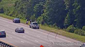 Officials Update Rollover Crash Into The Woods On I-95 In Newark - First State Update
