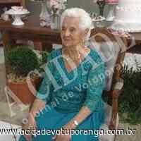 Falece Dinora Jacintha Golçalves, aos 91 anos - Jornal A Cidade - Votuporanga
