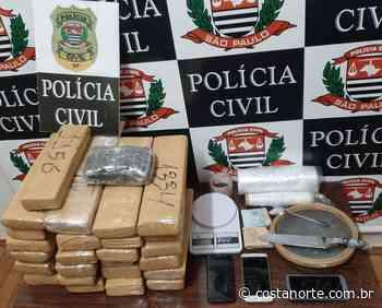 Dise de Votuporanga apreende 34,2 kg de drogas - Jornal Costa Norte