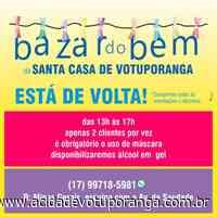 Bazar do Bem retoma suas atividades presenciais - Jornal A Cidade - Votuporanga