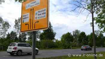 Straßenbau: Südstraße in Hoyerswerda wird ab 20. Juli zur Baustelle - Lausitzer Rundschau