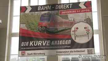 Finanzhilfen durch Strukturstärkungsgesetz: Merseburg soll Bahnanbindung nach Leipzig bekommen - MDR