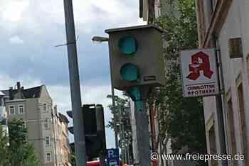 Erneut Blitzer in Chemnitz außer Gefecht gesetzt - Freie Presse