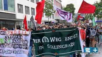 Siegen: 1000 demonstrieren gegen Rechts - Westfalenpost
