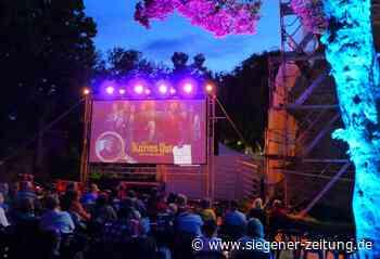 Siegener Open-Air-Kino eröffnet: Filmgenuss an zwei Spielorten am Schloss - Siegener Zeitung