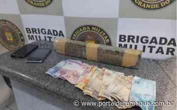 Policiais Militares prendem mulher por tráfico de drogas no Bairro Alvorada, em Ijuí - Portal de Camaquã