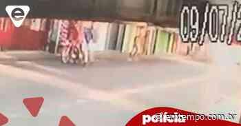 Vídeo: Criminosos tocam o 'terror' em parada de ônibus no Alvorada - EM TEMPO