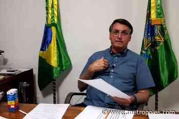 Com Covid-19 e isolado no Alvorada, Bolsonaro faz live de 5ª feira - Metrópoles