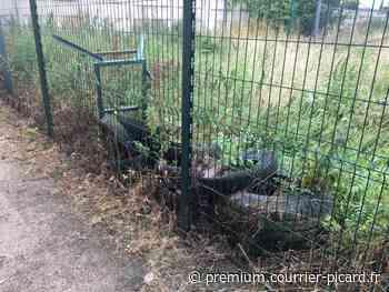 À Friville-Escarbotin, des pneus gênent la réhabilitation du terrain de l'ancien paintball - Courrier picard