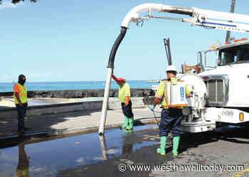 Sewage spill closes Kailua Bay - West Hawaii Today