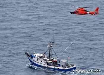 Coast Guard medevacs injured fisherman 100 miles west of Coos Bay - KEZI TV