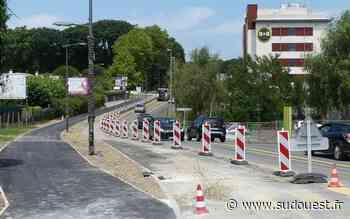 Boucau-Tarnos : Le chantier du Tram'bus a pris du retard - Sud Ouest