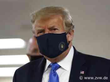 Trump trägt Maske - Rekord an Neuinfektionen in den USA - Ausland - Zeitungsverlag Waiblingen