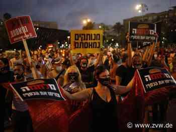 Tausende Israelis demonstrieren gegen Corona-Politik - Ausland - Zeitungsverlag Waiblingen
