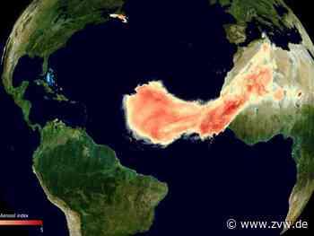 Gigantische Sahara-Staubwolke «Godzilla» über dem Atlantik - Wissenschaft - Zeitungsverlag Waiblingen