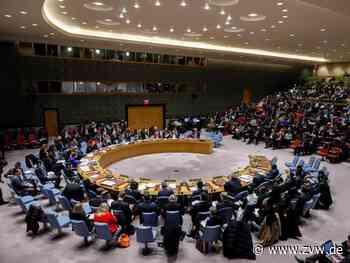 UN-Sicherheitsrat verlängert Syrienhilfe eingeschränkt - Homepage - Zeitungsverlag Waiblingen