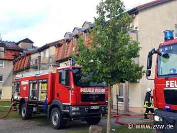 Heim in Templin brennt - ein Mann tot, sieben Verletzte - Panorama - Zeitungsverlag Waiblingen