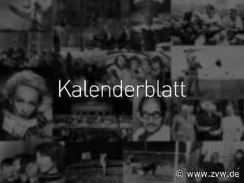 Kalenderblatt 2020: 12. Juli - Homepage - Zeitungsverlag Waiblingen