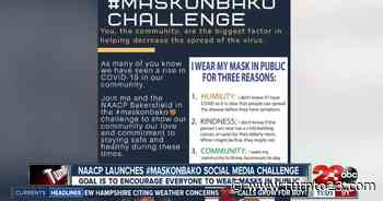 NAACP launches #maskonbako social media challenge - KERO 23ABC News