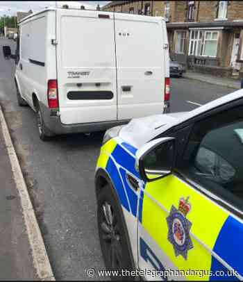 Disqualified Bradford driver has van seized in Holme Wood