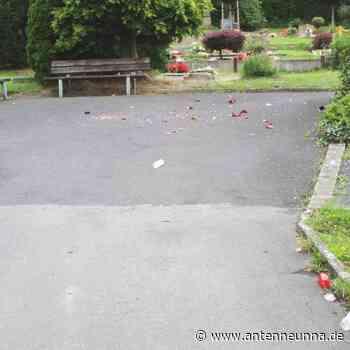 Schwerte: Vandalismus auf Westhofener Friedhof - Antenne Unna
