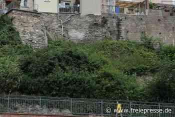 Waldenburg lässt marode Stützmauern sanieren - Freie Presse